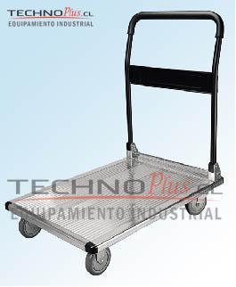 Carro plataforma aluminio plegable 150 kg technoplus - Carro plegable aluminio ...
