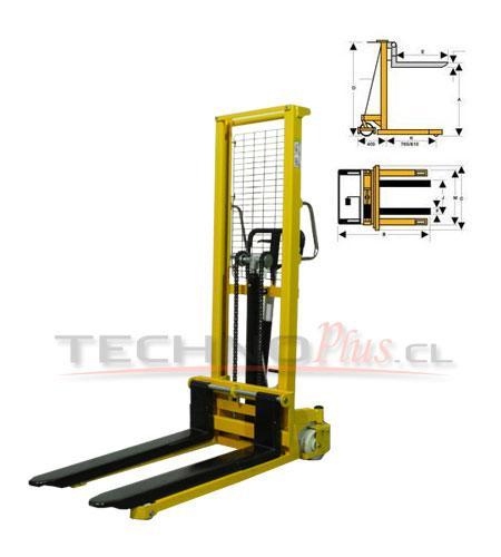 Apilador Manual Hidraulico