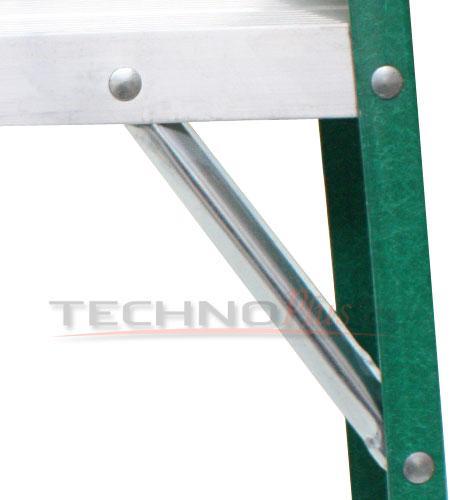 Escalera tijera fibra de vidrio serie 792 technoplus - Escalera de fibra de vidrio ...