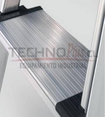 Escalera de tijera aluminio plataforma xxr 5 pelda os for Escalera aluminio 5 peldanos