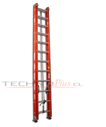 Escalera telescopica fibra de vidrio serie 534 technoplus for Precio escalera telescopica aluminio