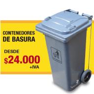 BASUREROS PLASTICOS