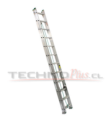 Escalera de Aluminio Telescópica 7.62M / 28P
