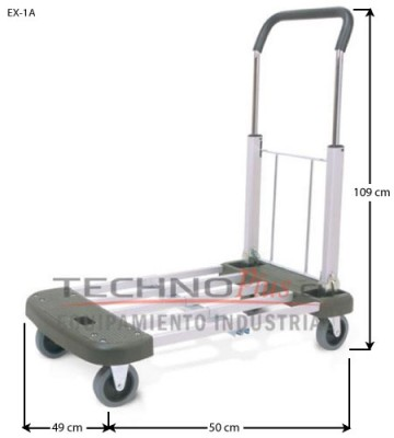 Carro Plataforma Plegable 150 Kilos