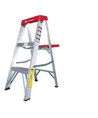 Escalera tijera de aluminio 3 p technoplus for Precios de escaleras de tijera de aluminio