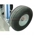 Carro Aluminio Dual Largo 250 kg.