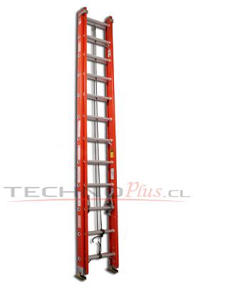escalera telescopica fibra de vidrio serie 534 technoplus