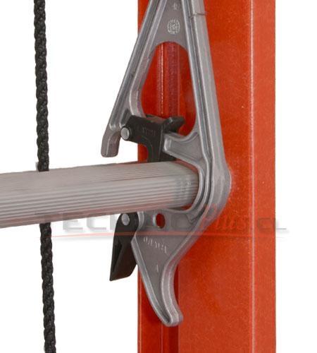 Escalera telescopica fibra de vidrio serie 534 technoplus - Escaleras telescopicas precios ...