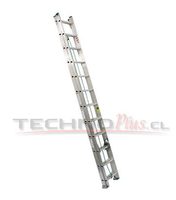 Escalera de Aluminio Telescópica 9.75M / 36P